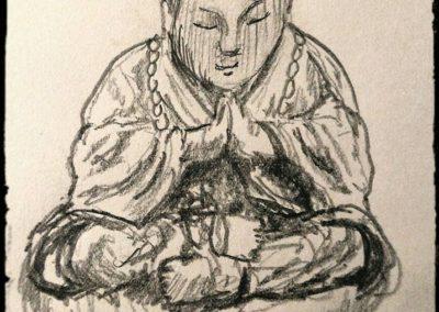 Buddha Meditation figure