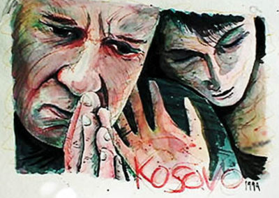Grief over Kosovo